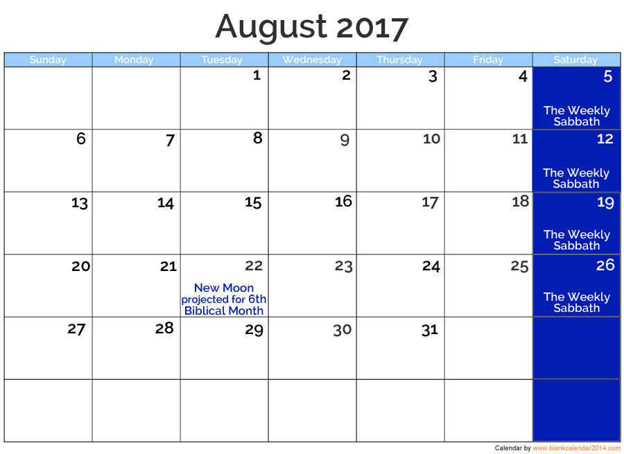 August 2017 Posted Holidays | nothingnewpress.com