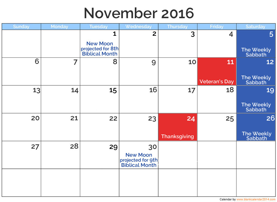 Nov 2016 Posted Holidays | nothingnewpress.com