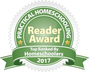 Practical Homeschooling Reader Award 2017