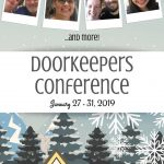 2019 Winter Doorkeepers' Conference | nothingnewpress.com