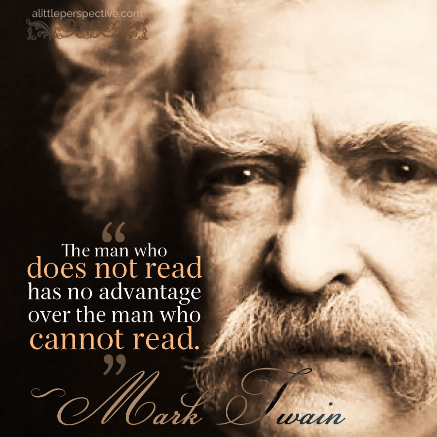 Mark Twain | alittleperspective.com
