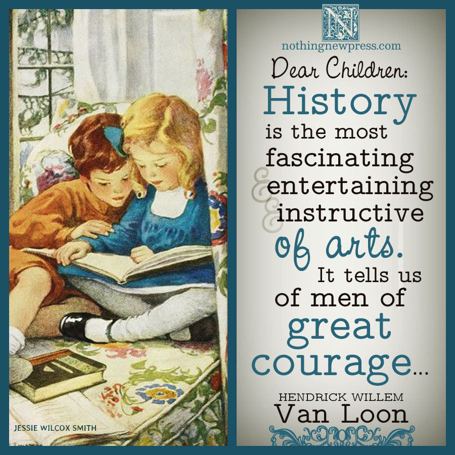 van loon on history | nothingnewpress.com