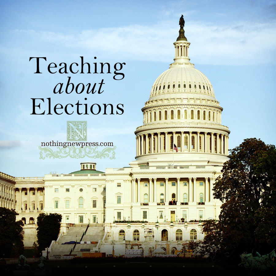 teaching about elections   nothingnewpress.com