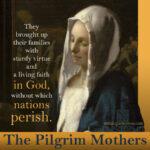 the pilgrim mothers | nothingnewpress.com